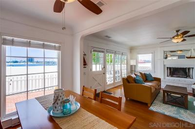 San Diego Multi Family 2-4 For Sale: 2910-12 Bayside Walk