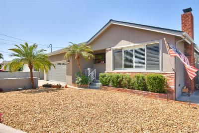 San Diego Single Family Home For Sale: 4072 Antiem St.