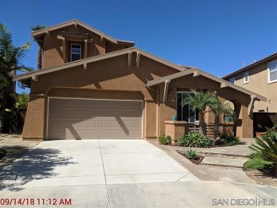 San Marcos CA Single Family Home For Sale: $940,000
