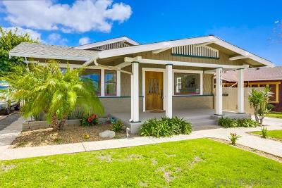 San Diego Multi Family 2-4 For Sale: 2733-2737 29th St