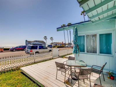 Oceanside Single Family Home For Sale: 304 S Pacific St