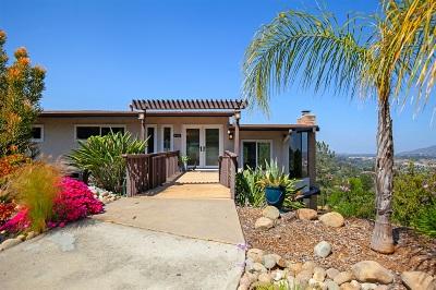 el cajon Single Family Home For Sale: 4904 Longview Way