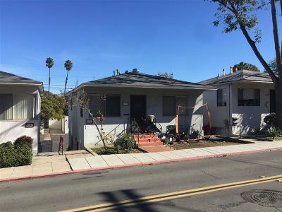 San Diego Multi Family 2-4 For Sale: 3135-37 Boundary Street