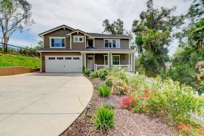 La Mesa Single Family Home For Sale: 9323 Carmichael Dr