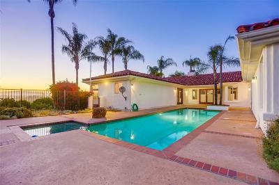Fallbrook Single Family Home For Sale: 3786 Foxglove