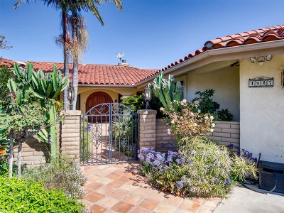 Single Family Home For Sale: 4927 Conejo Rd
