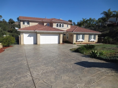 Escondido Single Family Home For Sale: 2534 Park Ridge Drive