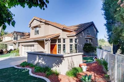 Carlsbad Single Family Home For Sale: 7086 Primentel Lane