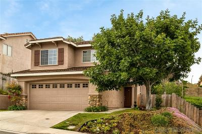 San Marcos Single Family Home For Sale: 657 Hillhaven Dr