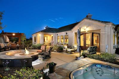 Carmel Valley Single Family Home For Sale: 12805 Three Canyons Pt