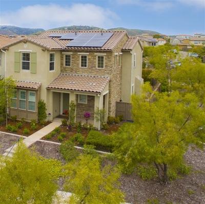 Del Sur, Del Sur Community, Del Sur/Santa Fe Hills Single Family Home For Sale: 15653 Tanner Ridge Rd