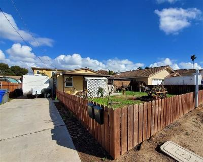 Imperial Beach Multi Family 2-4 For Sale: 1251-1253 11th St