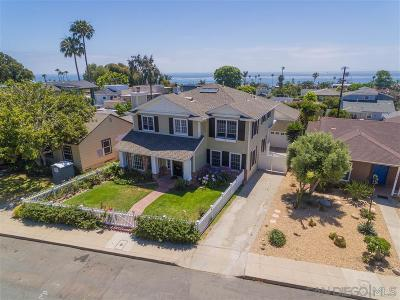 La Jolla Single Family Home For Sale: 5640 Waverly Ave