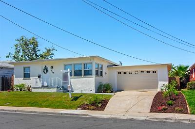 El Cerrito, El Cerrito/West College Single Family Home For Sale: 4838 Atlanta Dr