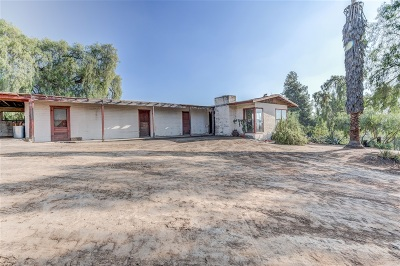 El Cajon Single Family Home For Sale: 2030 Valley Rim