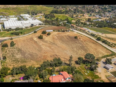 Escondido Residential Lots & Land For Sale: Hill Valley