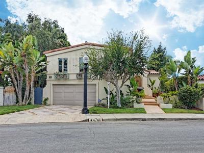 Talmadge, Talmadge/College Area Single Family Home For Sale: 4740 Norma Drive