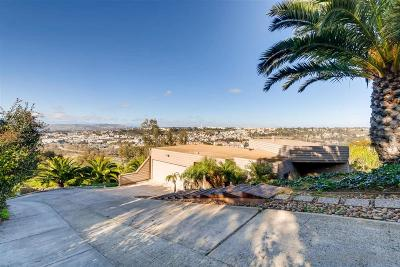 Mission Hills, Mission Hills/Hillcrest, Mission Valley Single Family Home For Sale: 2470 Pine Street