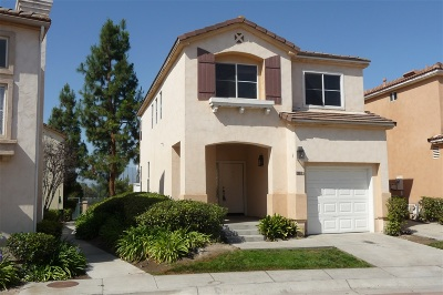 Chula Vista Single Family Home For Sale: 1228 La Vida Ct.