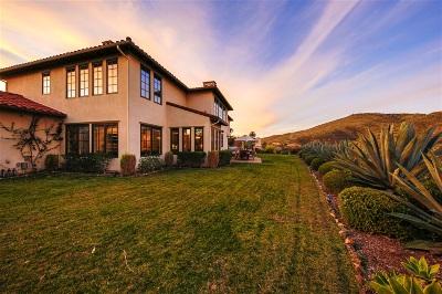 Rancho Santa Fe Single Family Home For Sale: 7762 Calle Amanacer