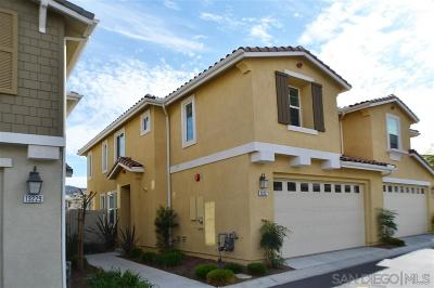 Lakeside Townhouse For Sale: 13227 Spring Mountain Rd
