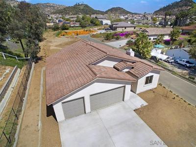 Escondido Single Family Home For Sale: 2046 Conway Dr