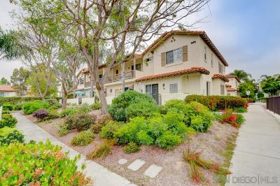 Oceanside Townhouse For Sale: 1470 Rancho Rose Way #31