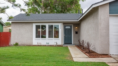 Single Family Home For Sale: 8606 Gold Coast Dr.