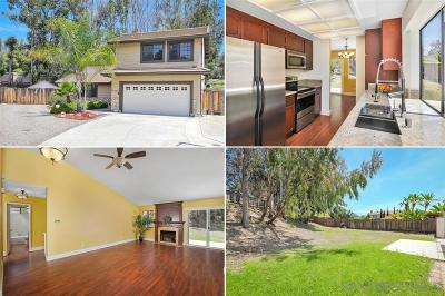 Poway Single Family Home For Sale: 13234 Ironbark Way