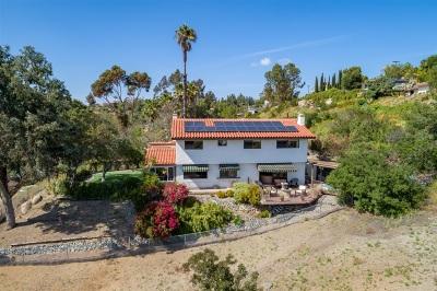 el cajon Single Family Home For Sale: 1811 Penasco Rd