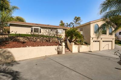 Vista Single Family Home For Sale: 1262 Via Christina