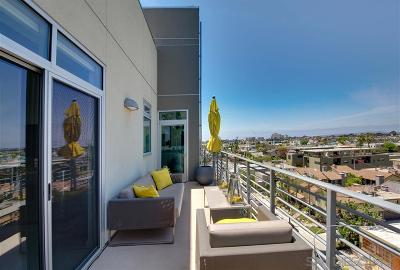 San Diego Attached For Sale: 3740 Park Blvd #611