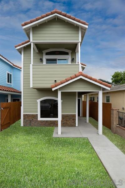 Norma Heights, Normal Heights Single Family Home For Sale: 4451 Wilson Ave.