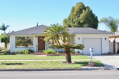 Oceanside Single Family Home For Sale: 1521 Stewart