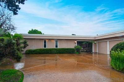 San Diego CA Single Family Home For Sale: $1,095,000