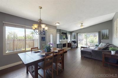 Escondido Single Family Home For Sale: 1701 Rosemary Ct