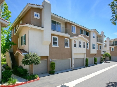 San Diego Townhouse For Sale: 13069 Evening Creek Dr S #56