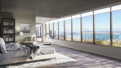 San Diego Attached For Sale: 2604 5th Ave #904