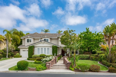 Encinitas Single Family Home For Sale: 535 Hidden Ridge Court