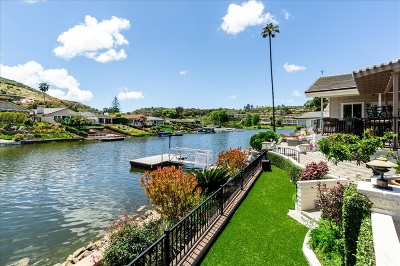 Lake San Marcos Single Family Home For Sale: 1457 La Loma Dr