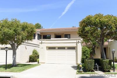 Single Family Home For Sale: 17740 Villamoura Dr
