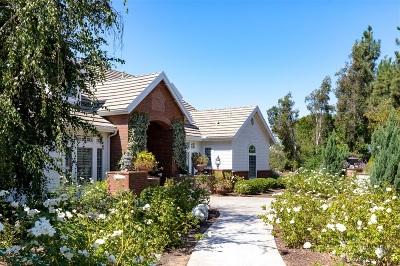Single Family Home For Sale: 2355 Avenida La Cima