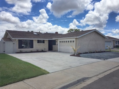 Chula Vista Single Family Home Back On Market: 560 Azalea St