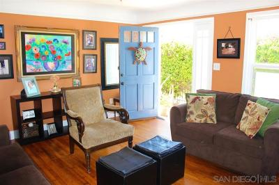 Single Family Home For Sale: 4734 Santa Cruz Avenue