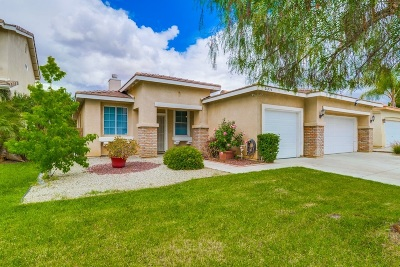 Riverside County Single Family Home For Sale: 26954 Canberra