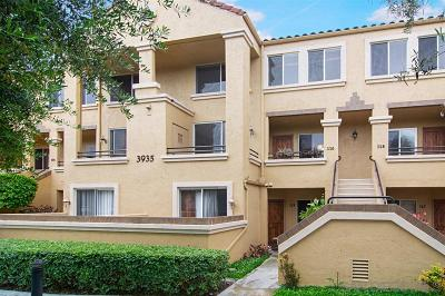 San Diego Attached For Sale: 3935 Nobel Dr #116