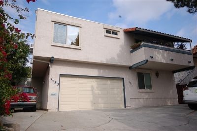 San Diego Attached For Sale: 3783 Swift Ave #3