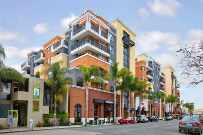 San Diego Attached For Sale: 3650 5th Ave #613