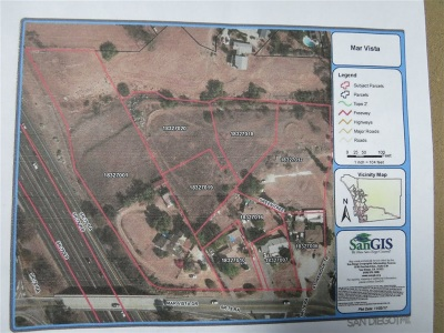 San Diego County Residential Lots & Land For Sale: 367 Mar Vista Dr #1
