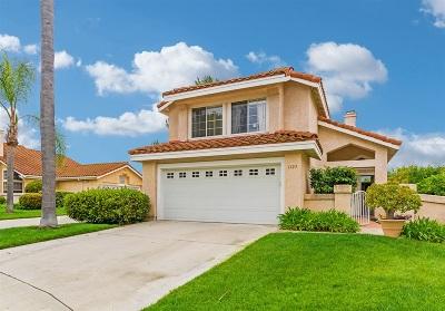Vista Single Family Home For Sale: 1123 Ballata Ct.